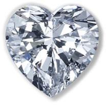 Hjerteslipte diamanter klikk bildet for mer utvalg