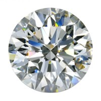 Diamant0,25 ct. top wesselton si